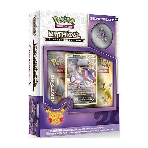 Magearna Mythical Collection + Mew & Genesect Pokemon Generations Booster Boxes