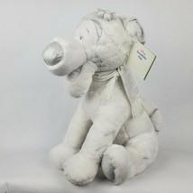 "Disney Store Snowflake Pals Tigger 17"" Plush White Tiger Winnie the Pooh  - $26.60"