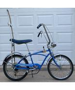 Huffy Dragster V Rail Muscle Bike Bicycle-5 Speed-Blue-Banana Seat-Sissy Bar-Vtg - $1,839.99