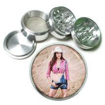 Farmers Daughter Pin Up Girls D2 63mm Aluminum Kitchen Grinder 4 Piece Herbs - $11.05