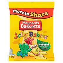 Original Maynards Bassetts Jelly Babies Sharing Bag Imported From The UK England