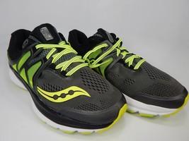 Saucony Hurricane ISO 3 Size 9.5 2E WIDE EU 43 Men's Running Shoes Gray S20349-1