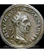 TRAJAN DECIUS Z. Very Rare 4 in Prieur 602 Tetradrachm Ancient Roman Emp... - $359.10