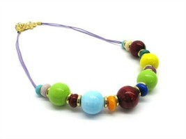 Authentic Italian Murano Glass Necklace from Italy NEW - $24.95