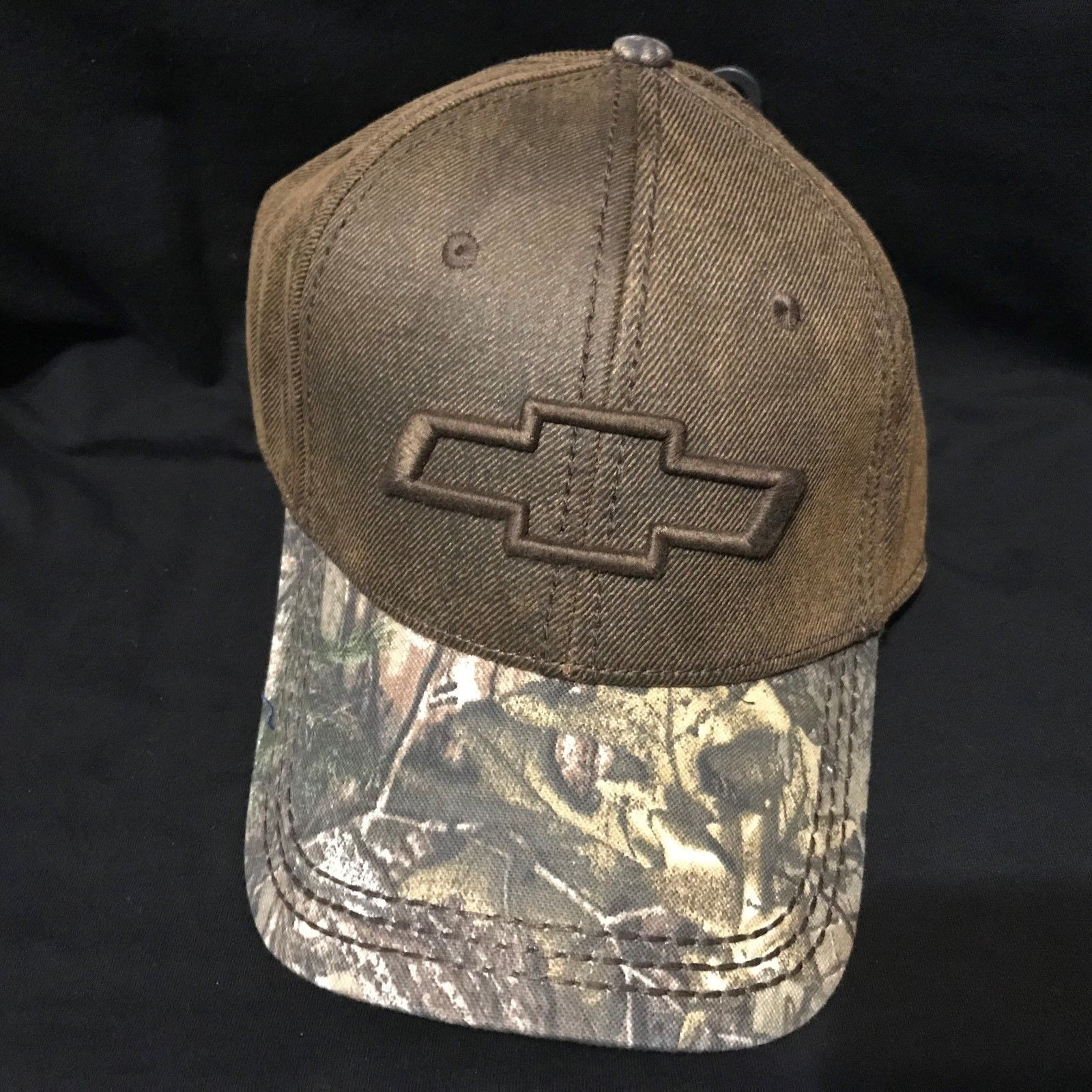 Chevy Logo Realtree Camo trucker baseball cap hat