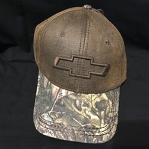 Chevy Logo Realtree Camo trucker baseball cap hat - $10.99