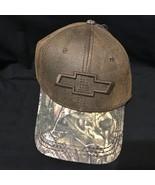 Chevy Logo Realtree Camo trucker baseball cap hat - $10.99