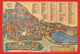 Early Map New York World of Tomorrow Wall Art Poster Print Decor Vintage... - $12.87+