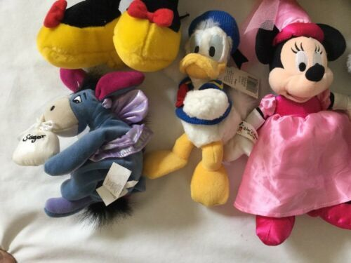 Disney Eeyore Pooh Minnie Mickey Plush Lot ... And Donald Too! image 2