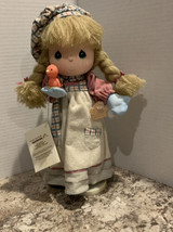 Vintage Applause Precious Moments Doll Music Box ( let it snow )-1988 - $23.27
