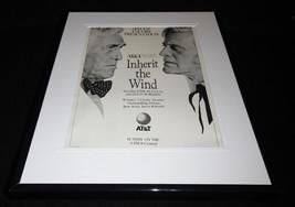 Inherit the Wind 1991 Framed 11x14 ORIGINAL Vintage Advertisement Kirk D... - $32.36