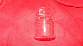 PYREX SMALL STORAGE CANISTER REPLACEMENT GLASS SHELL ONLY FREE USA SHIPPING - $8.59