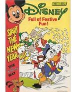 Disney Magazine #131 UK London Editions 1988 Color Comic Stories GOOD+ WS - $2.25