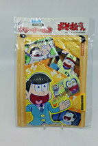 Osomatsu San Cyber Gadget New 3DS LL PS Vita Cleaner Drawstring Bag Japa... - $21.60