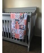 "Handmade Minky Quilt Blankets ""Native Garden"" - $26.96+"