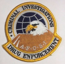 AFOSI United States Air Force Office of Special Investigations Drug Enfo... - $19.79