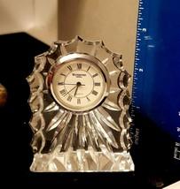 "Vintage Waterford Crystal Clock Small 3"" - $47.45"