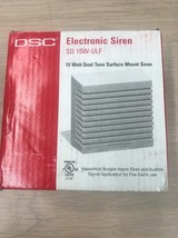 Alarm Siren DSC SD 15W-ULF 15Watt Dual Tone Surface Mount                    AD5