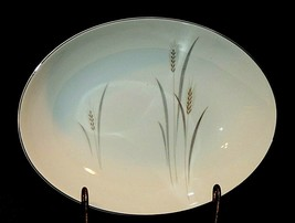 Platinum Wheat Fine China of Japan Oval Vegetable Serving Bowl AA20-7540... - $39.95