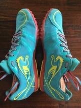 PUMA Women's TFX Distance V4 Blue Hibiscus/ Flourescent Yellow Spike Size 8 Trac - $29.96