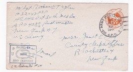 WORLD WAR II EXAMINED MAIL US ARMY POSTAL SERVICE A.P.O. NOV 15 1944 APO... - $2.98
