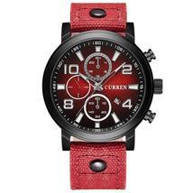 CURREN 8199 Casual Style Men Wrist Watch Clock Quartz Movement Watch - $21.99