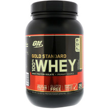 Optimum Nutrition On Gold Standard 100% Whey Protein Isolate Drink Mix (Chocolat - $29.97