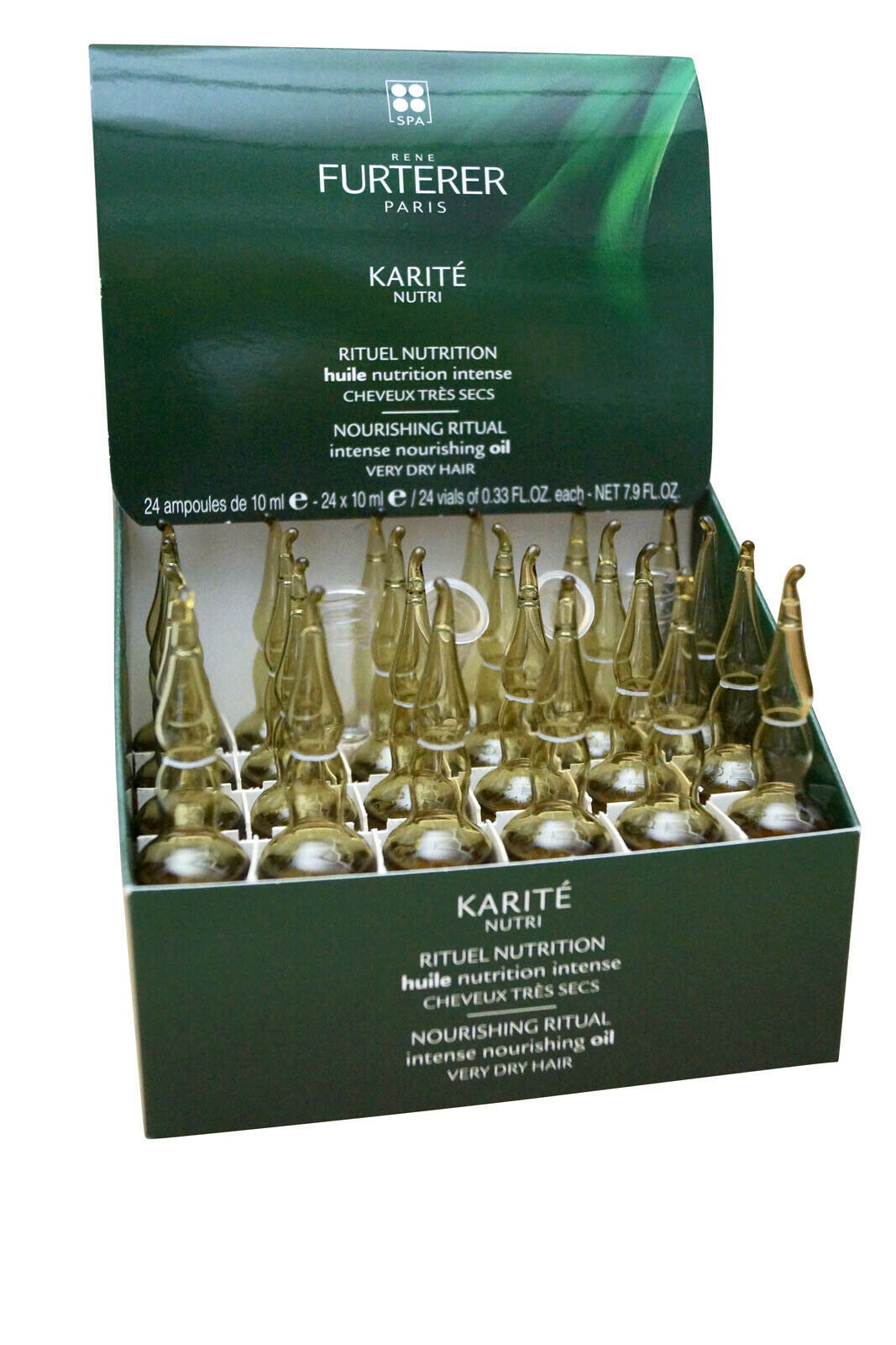 Primary image for Rene Furterer Karite Nutri Intense Nourishing Oil Treatment Dry Hair 24 x .33 OZ