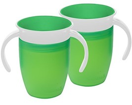 Munchkin Miracle 360 Trainer Cup Green/Green - $13.34