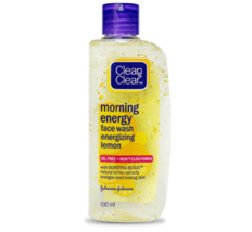 Clean and Clear Morning Energy Lemon Face Wash , Oil Free 100 ml Face Wash - $9.49