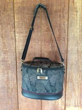 VINTAGE AMERICAN TOURISTER Tapestry TRAIN CASE Cosmetics Bag CARRY ON Lu... - $34.64