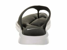 Women's Nike Ultra Comfort Thong Sandals, 882697 004 Size 6 Anthracite/White image 3