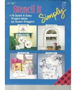 Stencil It Simply - byPlaid - Susan Driggers - Quick & Easy Project Idea... - $1.03