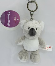 NICI Koala Gray Stuffed Animal Plush Beanbag Key Chain 4 inches 10 cm - $11.00