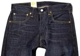NEW LEVI'S 501 MEN'S ORIGINAL FIT STRAIGHT LEG JEANS BUTTON FLY BLUE 501-1332 image 4