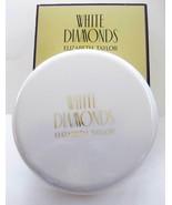 Elizabeth Taylor White Diamonds Body Radiance Perfumed Body Powder 2.6 O... - $19.00
