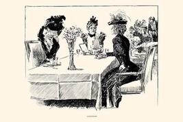 Luncheon by Charles Dana Gibson - Art Print - $19.99+