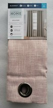 NEW (1) JCP Home Sullivan PINK BLUSH Blackout Grommet Curtain Panel 50 B... - $65.44