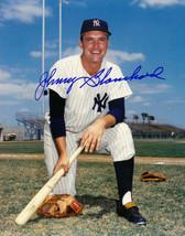 Johnny Blanchard signed New York Yankees 8x10 Photo (on knee - deceased) - $15.00