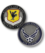 NEW USAF U.S. Air Force Kadena Air Base, Okinawa, Japan Challenge Coin. - $14.99