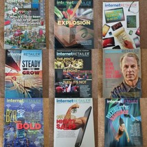 Internet Retailer Magazines 2014-2016 9 Issues Lot - $12.19