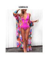 saida de praia Fashion Beach Bikini Cover Up Women Beachwear Multicolore... - $20.95