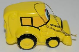 Enesco 865699 John Deere Kids Hanging Ornament Yellow Backhoe image 6