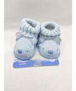 DISNEY BABY INFANT BOOTIES SOCKS BLUE  SZ 0-3 MOS - $14.75