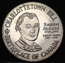 Charlottetown Canada 125th Anniversary Trade Token Dollar 1980~UNC~Free Shipping - $7.93