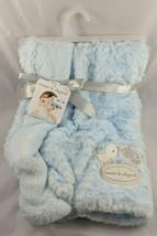 "Blankets & Beyond Blue Birds Dots Baby Blanket 28"" x 32"" - $17.95"