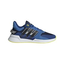 adidas Run90s NVY/Black/YEL Running Shoes 8.5 - $54.30