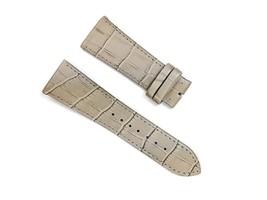 Beige Alligator Pattern leather Strap band FOR Franck Muller 26mm Long Island - $39.99