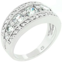 Cubic Zircornia Illumination Ring (size: 05 - 10) (NICE iTEM!) - $29.56