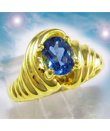 HAUNTED RING MASTER OF TOUCH GOLDEN SUCCESS 12,000X EXTREME MAGICK 7 SCH... - $477.77
